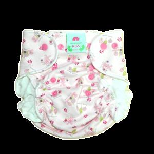 Zajček, hiška in narava - roza - newborn